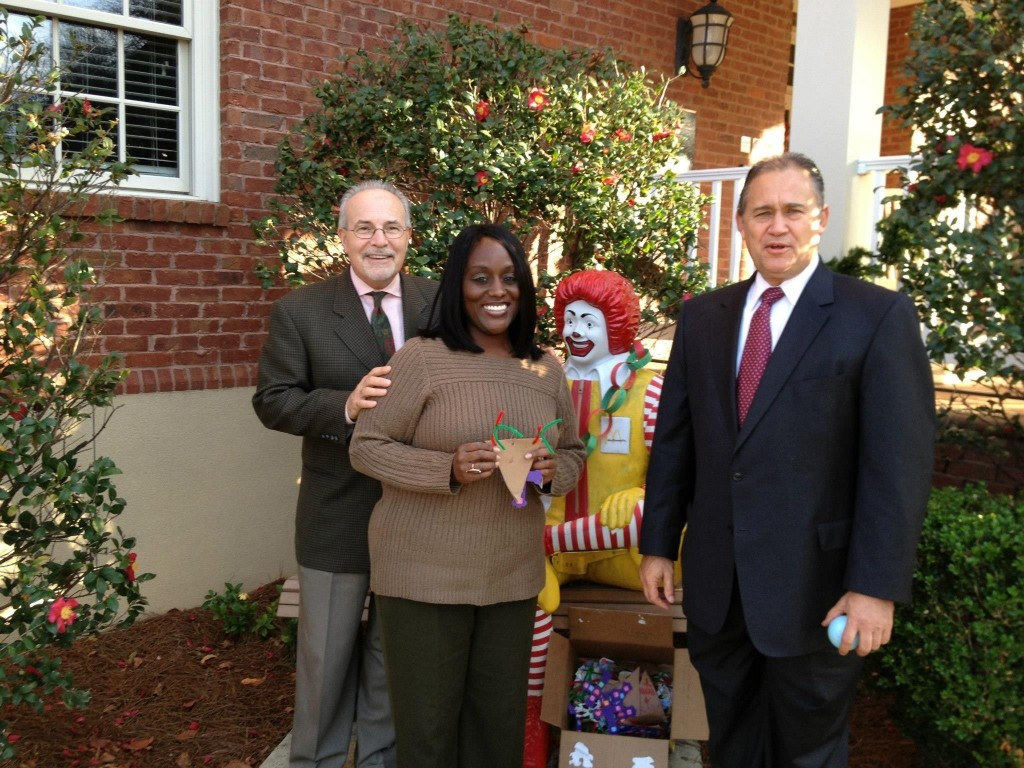 We planned and executed the Christmas 2012 Ornament Project for Ronald McDonald House in Macon, GA sponsored by our client, GreenTec Homes, Inc., an Atlanta, GA-based green builder.